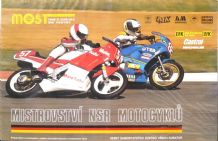 "MOST AUTODROM Motorcycle Racing 24-9-89 original Poster 25 x 38"" ( 640 x 970mm)"
